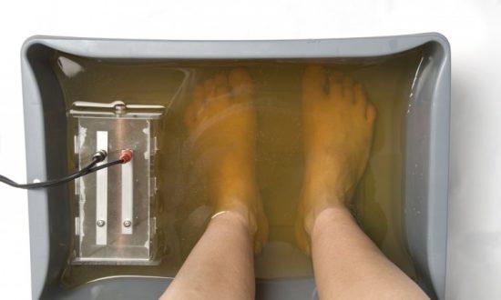 Study Debunks Ionic Footbath Detox Claims