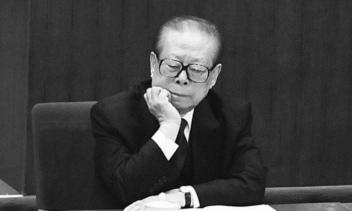 Jiang Zemin. (Minoru Iwasaki-Pool/Getty Images)
