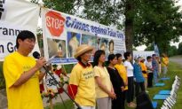 Rally Marks 9th Anniversary of Falun Gong Persecution