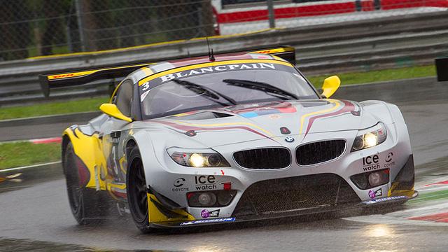Maxime Martin drives a BMW Z4 GT3 at the2012 Blancpain Endurance Series Monza round. (blancpain-endurance-series.com)