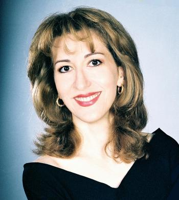 UNUSUAL SINGING: Naila-Aziz, will sing in the Middle Eastern style.  (Courtesy of Melodia Women's Choir and Orchestra)