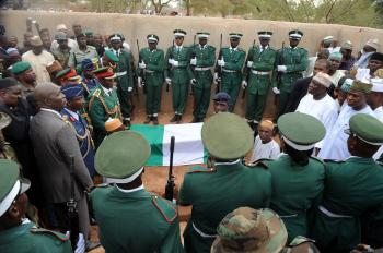 With Umaru Yar'Adua's Funeral, Nigeria Swears in New President