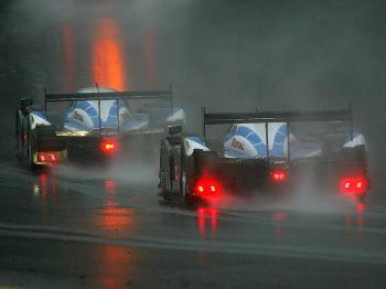 Peugeot Wins Rain-Shortened Petit Le Mans