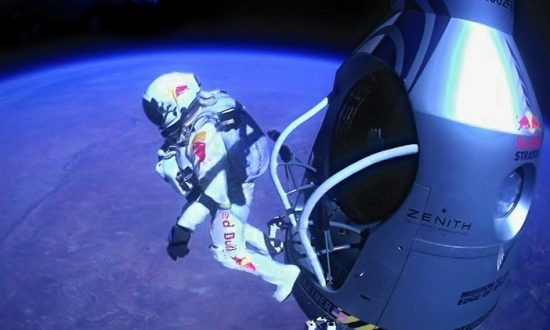 Red Bull Stratos Mission Accomplished With 24-Mile Free Fall
