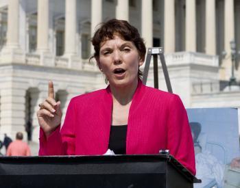 President of Women's Rights Without Frontiers, Reggie Littlejohn. (Lisa Fan/Epoch Times)