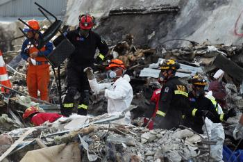 Christchurch Earthquake Trauma Victims Helped by International Agencies