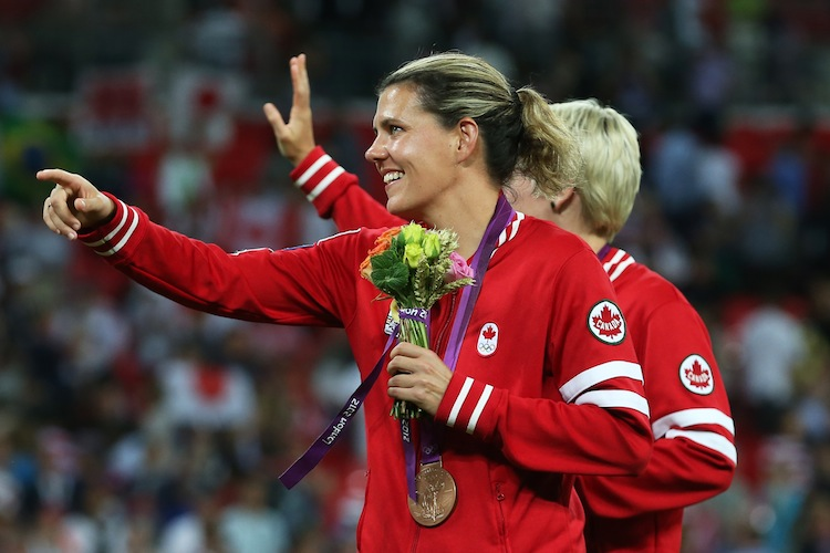 christine sinclair Bio christine sinclair is widely recognized as the greatest soccer player to ever come out of canada she has spent the last 17 years with the canadian team, participating in three fifa world cups (2003, 2007, 2011) and two olympic games.