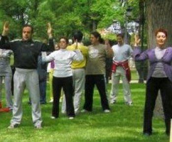Spaniards Celebrate Falun Dafa Day
