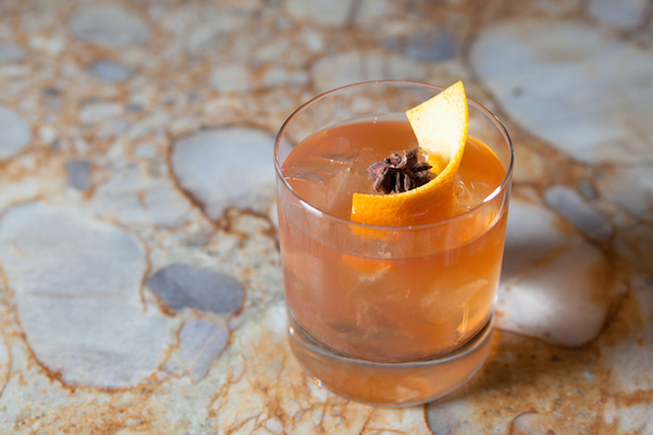 The Spice Market Old Fashioned. (Courtesy of JW Marriott, Los Angeles)