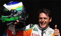 Fisichella, Force India on Pole at Spa