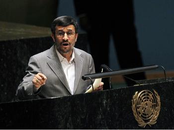 Ahmadinejad Defiant Over Nuclear Program