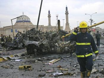 Iraq Suicide Bombers Kill 127