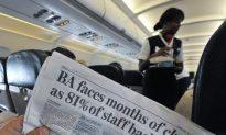 British Airways Crew to Strike, Easter Travel Affected