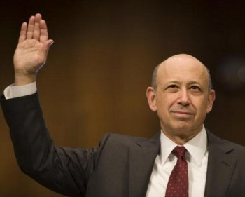 Goldman Sachs CEO Blankfein Reelected by Investors