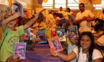 New Program Brings Books to 10,000 Children