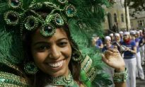 Colorful Sights During Hamburg's Sixth 'Carnival of the Cultures'