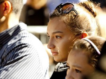 The 9th annual 9/11 commemoration at Zuccotti Park near Ground Zero on Sept. 11, 2010.  (Henry Lam/ Epoch Times Staff)
