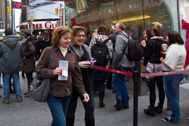 Discount Theater Ticket Sales Untouched by Recession