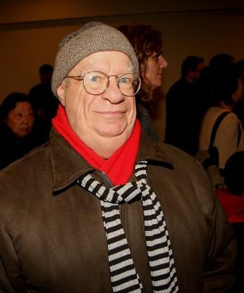 Retired broadway actor Mr. Cowan was taken by the talent of the artists of Divine Performing Arts. (Jason Loftus/The Epoch Times)