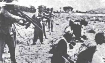 Arbitrary executions were commonplace during the Cultural Revolution. (Boxun.com)