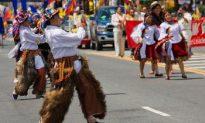 Parade Celebrates Ecuadorian Independence Day
