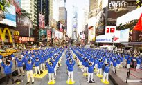 Falun Gong Brings Tranquility to Times Square