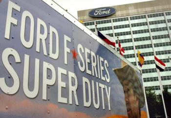 Surprise: Ford Posts Big Profit, Shares Jump