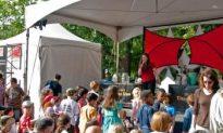World Science Fair in Washington Square Park