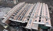 Rotten Foundations Cause Building Collapse in Shanghai
