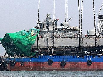 Warning Shots Fired At North Korean Boats