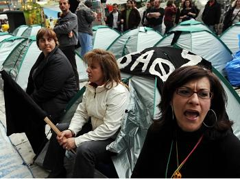 Greece Challenged by Strikes, Anarchy