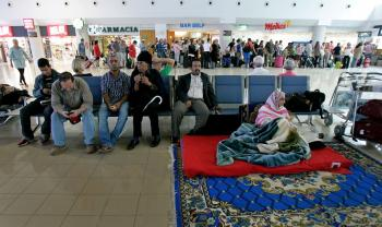 Saharan Activist Stranded at Airport on One-Month Hunger Strike