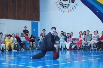 Martial Arts Show Displays Skill, Precision