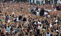 Iran's Mousavi Attends Tehran Protest Rally