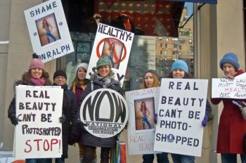 Ralph Lauren: Stop Distorting Images, Say Protesters