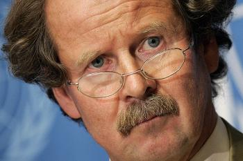 The U.N. Special Rapporteur on Torture, Dr. Manfred Nowak (Fabrice Coffrini/AFP/Getty Images)