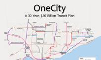 Toronto Transit Announces $30 Billion Plan