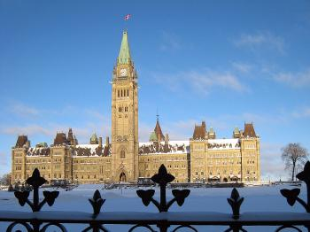 Canada's House of Parliament, Parliament Hill, Ottawa, Canada.  (Michel Comte/AFP/Getty Images)