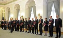 The Happy Couple: Poland's New Coalition Government Sworn In