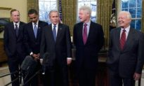 President-Elect Obama Joins Former and Current Presidents for Luncheon