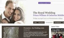 Royal Wedding Website Launches for April's Royal Wedding