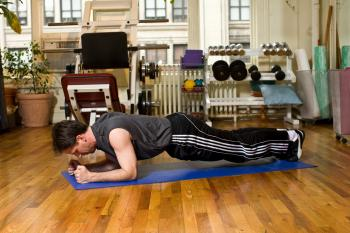 Move of the Week: Pushups in Plank