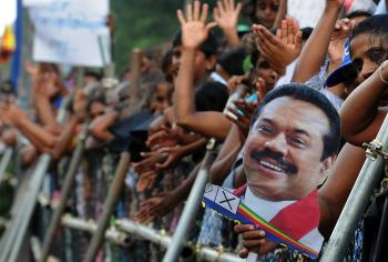 In a Clash of Former Allies, Sri Lanka President Wins Elections