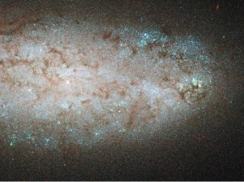 Starburst Activity in a Nearby Galaxy Ending