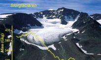 Sweden's Highest Mountain Is Shrinking