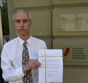Global Million Signatures Petition Handed to Swiss