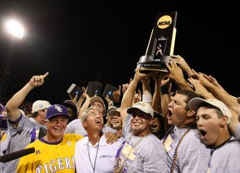 LSU Beats Texas for CWS Championship