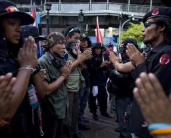 Thai Protest General Shot