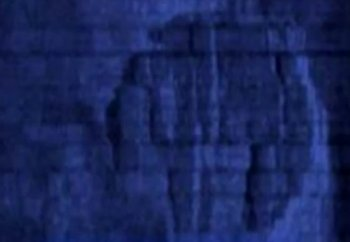 YouTube screenshot of the 'UFO' captured in a sonar image. (The Epoch Times)