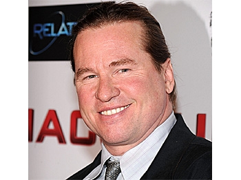 Actor Val Kilmer attends the premiere of 'MacGruber' at Landmark's Sunshine Cinema in New York City on May 19, 2010. (Bryan Bedder/Getty Images)